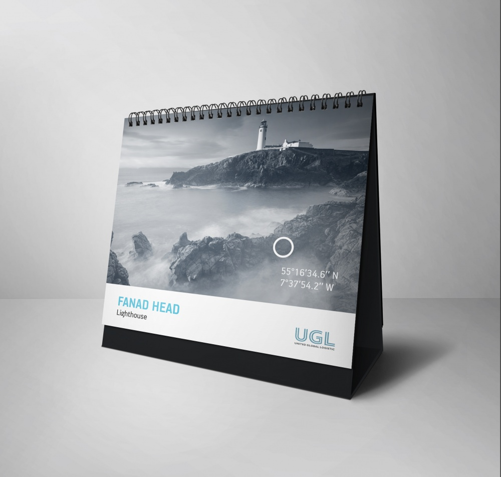 The Light of Goal - корпоративный новогодний сет от GRAFERI для компании United Global Logistic
