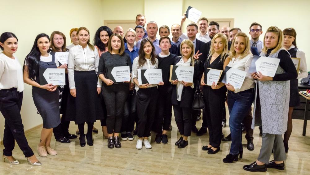 Тренинг-сессия для амбассадоров бренда  ARBER FASHION GROUP